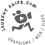 Logo de Laurent Agier, Agence de communication basée sur Toulon