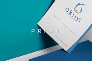 image mise en avant pour la création de l'identité de la marque Akssys Partners par Laurent Agier, agence de communication sur Toulon