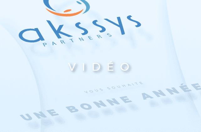 image mise en avant pour la création d'une carte de vœux sous forme de motion design pour Akssys Partners par Laurent Agier, agence de communication sur Toulon