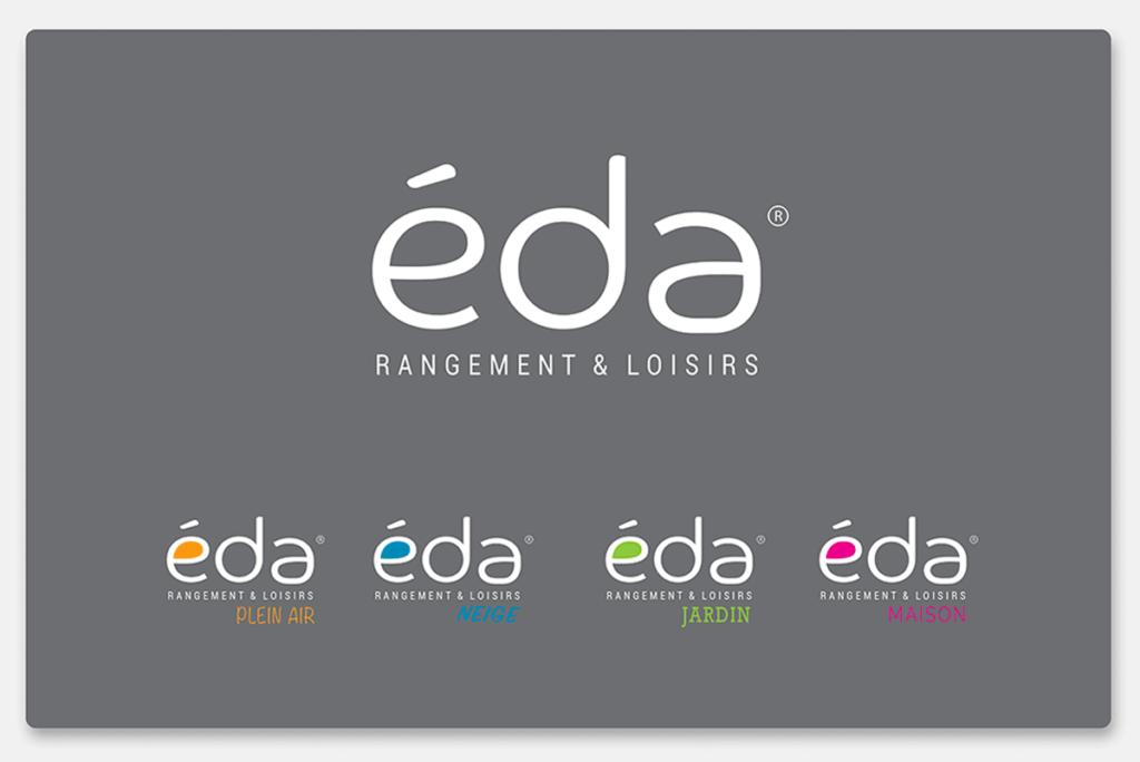 visuel d'entête pour création du logo de EDA Plastique, réalisée par Laurent Agier, agence de communication à Toulon