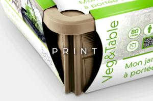 image mise en avant pour la création d'étiquette packaging pour EDA, par Laurent Agier, agence de communication sur Toulon