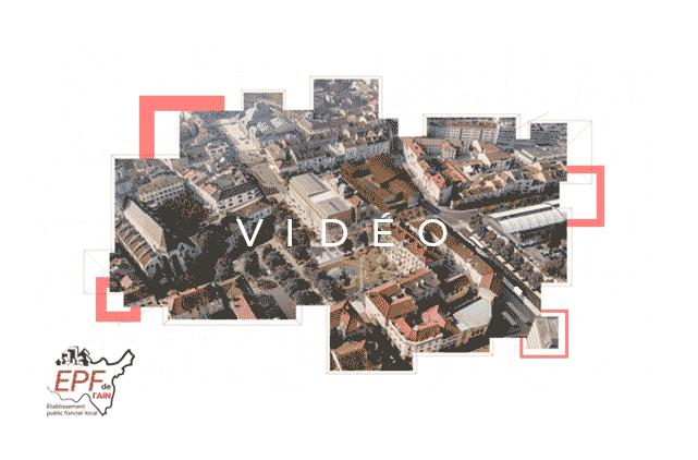 image mise en avant pour la création d'une vidéo institutionnelle de présentation de l'EPF, réalisée par Laurent Agier, en agence de communication