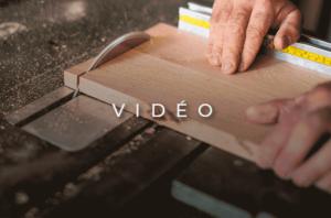 """image mise en avant pour la création d'une vidéo promotionnelle sur """"Les Artisans du Bois"""" par Laurent Agier : Agence de Communication située à Toulon"""
