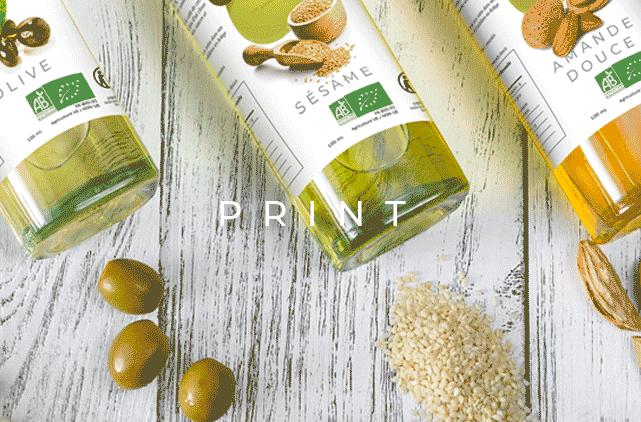 image mise en avant pour la création de packaging «Pressage» pour la marque Natura Mundi réalisée par Laurent Agier, agence de communication sur Toulon