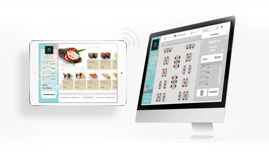 visuel d'entête de la plateforme digitale du restaurant Oko Oto, créée par Laurent Agier, agence de communication sur Toulon