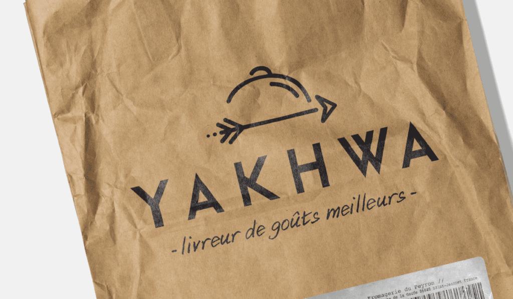 visuel d'entête pour la création du logo Yakhwa, réalisée par Laurent Agier, agence de communication à Toulon