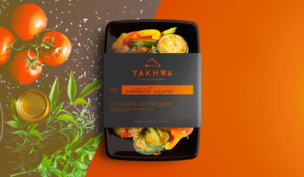 visuel d'entête du packaging de Yakhwa réalisé par Laurent Agier, agence de communication basée à Toulon