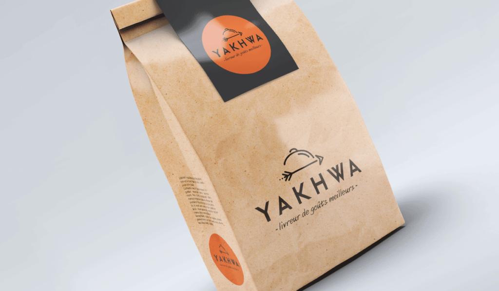 visuel du packaging de Yakhwa réalisé par Laurent Agier, agence de communication à Toulon