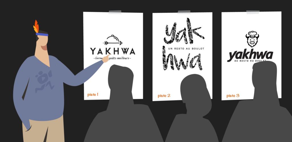 illustration de l'article «comment créer un logo professionnel» pour les critiques, rédigé par Laurent Agier - agence de communication basée sur Toulon