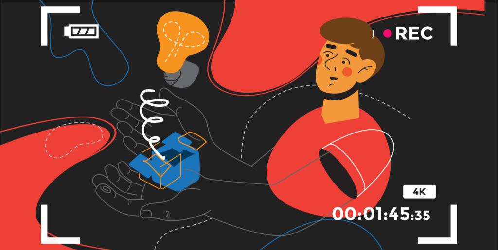illustration de l'article «comment créer un film d'entreprise efficace» pour « votre solution », rédigé par Laurent Agier - agence de communication basée sur Toulon
