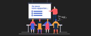 illustration de l'article «comment présenter votre entreprise» pour «décrire à quoi vous contribuez», rédigé par Laurent Agier - agence de communication basée sur Toulon