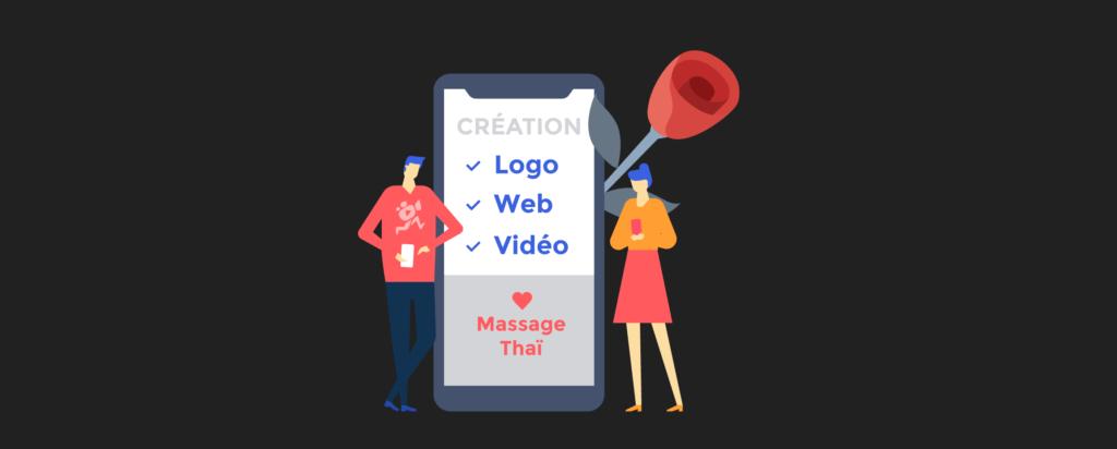 illustration de l'article «comment présenter votre entreprise» pour «vos produits», rédigé par Laurent Agier - agence de communication basée sur Toulon