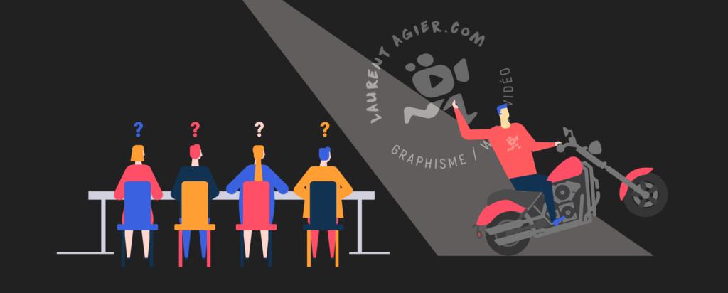 illustration de l'article «comment présenter votre entreprise» pour «votre entreprise», rédigé par Laurent Agier - agence de communication basée sur Toulon