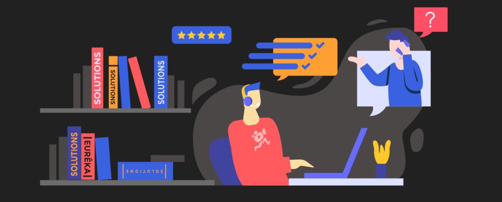 illustration de l'article «comment présenter votre entreprise» pour «vous projeter», rédigé par Laurent Agier - agence de communication basée sur Toulon